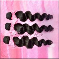 Wholesale Hair Product Loose Wave Brazilian Virgin Hair,Unprocessed Virgin Hair Weaving 3Pcs/Lot,Free Shipping By DHL