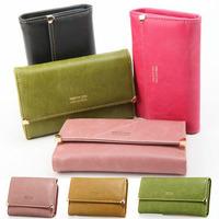 Women Vintage Wallet Matte PU Leather Purse 3 Sizes Female Fashion Designer 2015 Hot Clutch Wallets  Brand Style High Quality