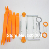 12pcs Car Door radio Interior Plastic Trim Panel Dashboard Installation Removal Pry Stereo Refit Tool Kit