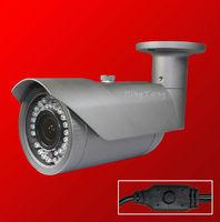 "Free shipping 700TVL Varifocal 1/3"" SONY Effio-E 960H CCD  camera 42 IR 2.8-12MM outdoor Infrared waterproof  cctv camera"