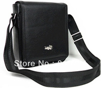 2014 hot sell casual Vintage male small vertical men shoulder bag  messenger commercial leather bag free shipping