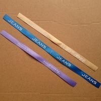 Customized  (500yards/lot)  satin plain Printed Ribbon Garment accessories webbing Free Shipping