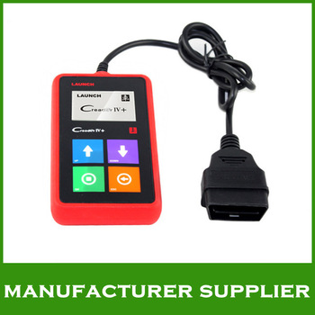 2014 top rated 100% original multi-language Launch X431 CREADER IV+ Car Universal Code Scanner free shipping