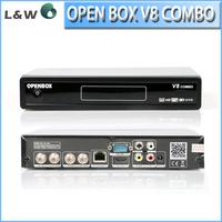 New Arrival Openbox V8 Combo  HD DVB-S2 +DVB-T2 Tuner  Support WEB TV and IPTV server openbox v8 Satellite Receiver Openbox
