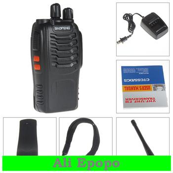 6pcs/lot BaoFeng New Digital Walkie Talkie BF-888S FM Transceiver with Flashlight 400-470MHz Dual Band Intercom Two Way Radio