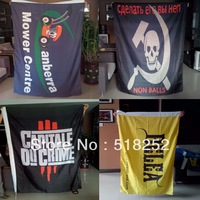 high quality polyester custom flag customize advertisement banner flag, free shipping