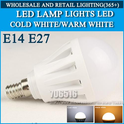 4W 5W 9W 10W 15W 20W 25W LED E14 E27 LED lamp lights LED bulb Led Light Bulb Cold white/warm white AC220V 230V 240V(China (Mainland))