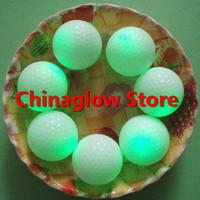 Free shipping Luminous golf ball glow in the dark