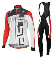 2014 women cycling clothing and cycling bib pant set ropa ciclismo women cycling jersey long sleeve womens cycling jersey set