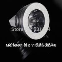 3W MR16 RGB LED Light Bulb 16 Colors Spotlight Bulb LED Lamp 12V For Car Decoration1pcs/lot
