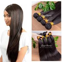 6A brazilian virgin hair straight 3bundles/lot brazilian virgin hair best quality unprocessed virgin  human hair weave straight