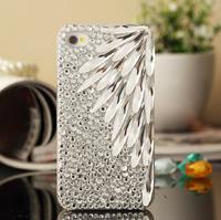 water-drop Gem Luxury glass diamond paste diamond mobile phone shell