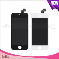 Crazy Promotion:For iphone 5 5G lcd with touch screen assembly black/white 100% Gurantee Free shipping