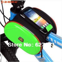 Free Shipping TPU Bicycle Bike Bag Front Frame Pipe Pouch Bag