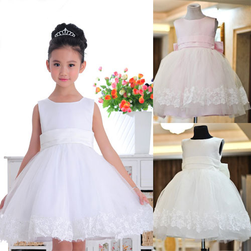 IVE 2013 Hot Sale Flower Girl Dress Girls' Princess Dress Children Sweet Cake Dress Girl's Wedding Dress Free Shipping IG101(China (Mainland))