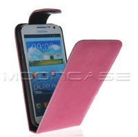 FLIP POUCH STYLE LEATHER CASE COVER PROTECTOR FOR SAMSUNG GALAXY PREMIER I9260 FREE SHIPPING