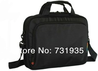 Free shipping retail 2014 new nylon black laptop bag for men notebook bag for 14 15 15.6 inch computer accessories