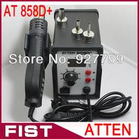 ATTEN AT858D+ BGA Soldering Rework Station Hot Air Gun 220V 700W Dropshipping