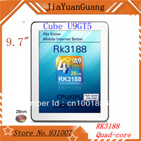 "Cube U9GT5 U9GTV RK3188 Quad Core 9.7""  IPS Retina capacitive screen 10P 2048x1536px Android 4.1 Bluetooth Dual Camera Tablet PC"