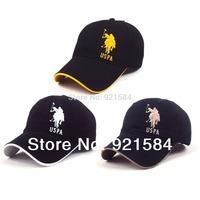 New 2014 cap snap back men Polo caps/women's & men's baseball cap/outdoor travel sun hat/good quality cotton Golf sports cap/WTL
