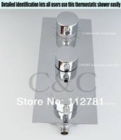 Drop Shipping - Wall Mounted Chrome Thermostatic Shower Valve I-007 V