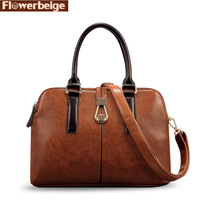 New 2013 women leather designer handbags British style ladies' shoulder bags vintage totes women messenger bag famous brands