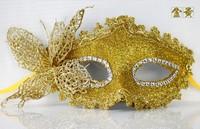 Halloween Princess Half Face Lace mask  Venetian Masquerade Carnival Women mask