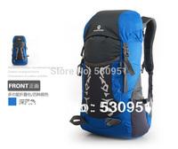 2014 Leather Backpack Real Freeshipping Unisex Solid Nylon Mochila Feminina 30l Outdoor Backpack Travel Bag Big Rucksack + Rain