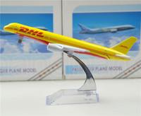 Free Shipping,Airlines plane model, DHL B757-200 , DHL-SINOTRANS 16cm, metal airplane models, airplane model