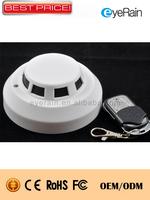 New 2014 mini Camcorder Security Camera H.264 Smoke Detector Hidden camera,video recorder with Night vision,motion senor,SD01