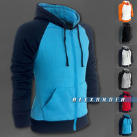Freeshipping,2013 Hit Color Fashion Sports Male's Hoodies sweaters,Casual Design Hoodes Jackets,High Qualtiy