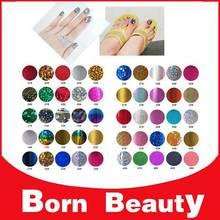 50 colors 6cm * 21cm/pcs (100pcs) Free shipping, hot stamping foil nail art DIY, nail transfer foils sticker, nail art stickers