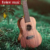 Mini Size 21'' Sapele Soprano Ukelele Aquila 4 String Rosewood Fingerboard Acoustic Instrument Small Guitar