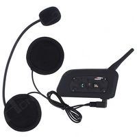 HOT SELLING! 1200M BT3.0 Motorcycle Helmet Bluetooth Intercom Headset for 6 Riders for Iphone6 FREE SHIPPING!
