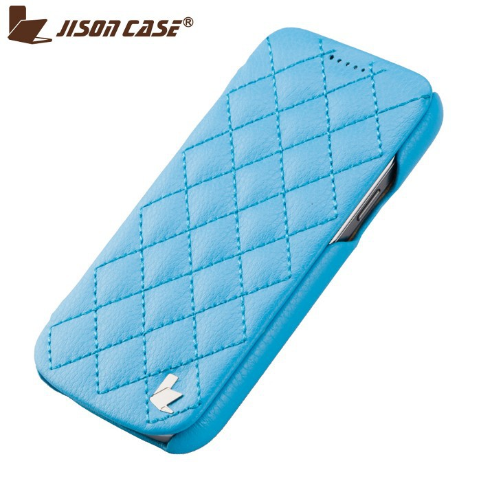 case for phone samsung galaxy s4 mini Fashion diamond style Full Handmade Premium Leather Cover for Samsung I9190 Free Shipping(China (Mainland))