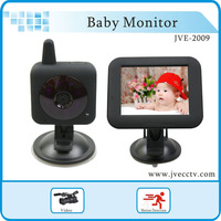 Wholesale Baby Car Cam Monitor 2.4ghz wireless video baby monitors 3.5 inch IR baby monitor Video wireless JVE2009 Free Shipping