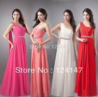 AQ Fashion 2013 One shoulder formal dress bride costume evening dress long design dress