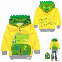 Free Shipping/wholesale/2013 new fashion children's wear baby boys sweater Kids hoodies cartoon children clothing/outerwear