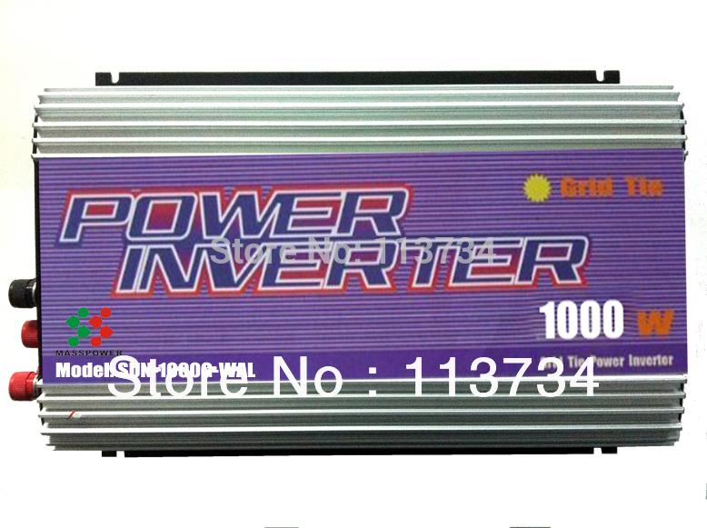 1000W wind grid tie mppt inverter , with pure sine wave(China (Mainland))