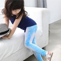 New 2015  Fashion Kids Pants Children's Clothing Kids Clothes Trousers Girls Pants Skinny Elastic Baby Leggings Girls Leggings