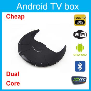 Amlogic mx/m6 adndroid 4.2 tv box with xbmc