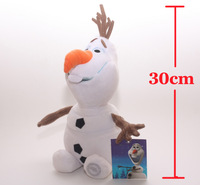 2014 Brinquedos Frozen New Arrival 30cm Olaf Plush Toys Dolls & Stuffed Toys Dolls & Accessories