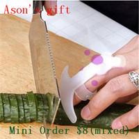 Smile Hand Finger Guard Protector Knife Chop Cut Slice Helper Kitchen Tool novelty veg tool 6pcs/lot