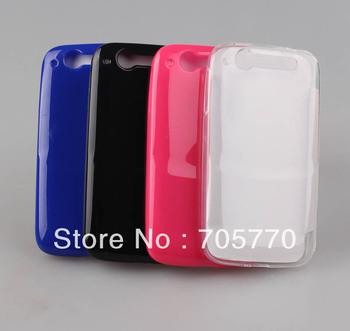 Free Shipping Hight Quality Shiny Gel Soft TPU Mobile Phone Shells Case For Alcatel OT 997 Phone Shells