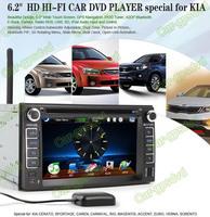 KIA Cerato 2003- 2007 GPS Navigation DVD Player ,TV,Multimedia Video Player system+Free GPS map+Free camera+ Free shipping
