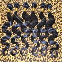 Wholesale 50g Bundle 10pcs Lot Brazilian Wavy Virgin Human Hair Weave Cheap Grade 5A Queen Hair Products Body Wave Free Shipping