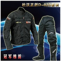 Free Shipping The original DuHan D-020 overalls Moto jackets motorcycle riding suit hockey clothes knight jacket suit