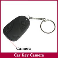 Mini Cam Hidden Pinhole Camera Car Keychain  Wireless mini Camcorder NO TF Card Free Shipping with elegant box JVE3109C
