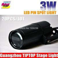 20pcs/lot 3W LED Pin Spot Light LED Rain Light 90CV-240V,Red,Green,Blue,White Color To Choose Led Pinspot Light