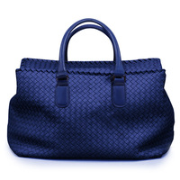 New 2013 Fashion Elegant Classic Royal blue Women's Big Handbag Designer Famous Brand Leather bags travel Tote